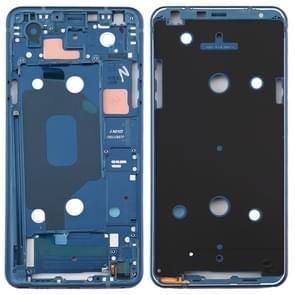 Front Housing LCD Frame Bezel Plate for LG Q Stylo 4 Q710 Q710MS Q710CS (Blue)