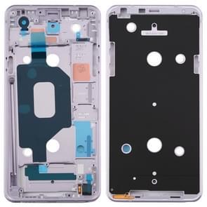 Front Housing LCD Frame Bezel Plate for LG Q Stylo 4 Q710 Q710MS Q710CS (Purple)