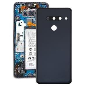 Battery Back Cover for LG G8 ThinQ / G820 G820N G820QM7, KR Version(Black)
