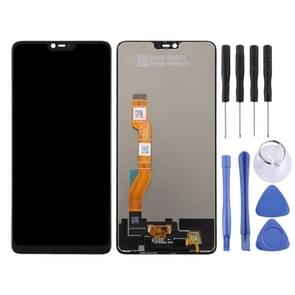 LCD Screen and Digitizer Full Assembly for OPPO F7 / A3 (Black)