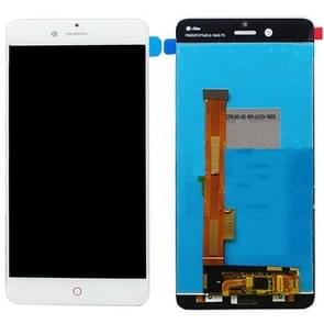 ZTE Nubia Z17 Mini / NX569J / NX569H LCD-scherm en Digitizer Full Assembly(White)