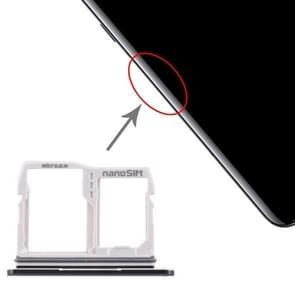 SIM Card Tray + Micro SD Card Tray for LG V50 ThinQ 5G(Black)