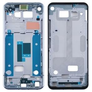 Front Housing LCD Frame Bezel Plate for LG Q70 (Baby Blue)