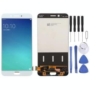 LCD Screen and Digitizer Full Assembly for OPPO R9 Plus(White)