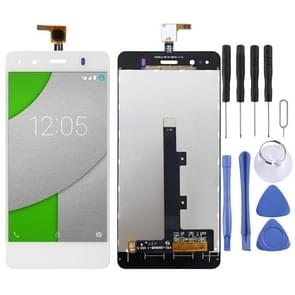 LCD Screen and Digitizer Full Assembly for BQ Aquaris A4.5(White)