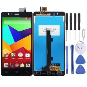 LCD Screen and Digitizer Full Assembly for BQ Aquaris E5 E5.0(Black)