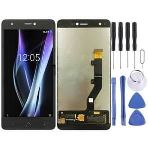 LCD Screen and Digitizer Full Assembly for BQ Aquaris X / X Pro(Black)