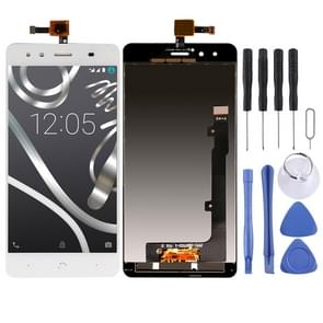 LCD Screen and Digitizer Full Assembly for BQ Aquaris X5(White)