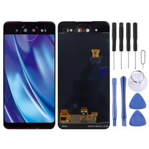 Back LCD Screen and Digitizer Full Assembly for Vivo NEX Dual Display(Blue)
