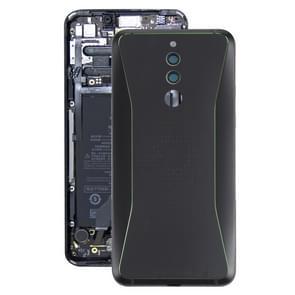 Original Middle Frame Bezel Plate + Battery Back Cover for Xiaomi Black Shark Helo(Black)