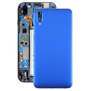 Batterij achtercover met camera lens voor Meizu E3 (blauw)