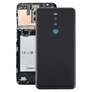 Batterij achtercover met camera lens voor Meizu Note 8 (zwart)