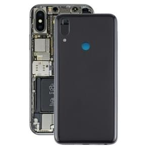 Batterij achtercover met Zijkleutels voor Meizu Note 9 (zwart)