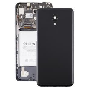 Batterij achtercover met camera lens voor Meizu M6s M712H M712Q (zwart)
