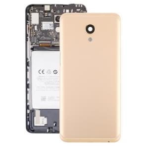 Batterij achtercover met camera lens voor Meizu M6s M712H M712Q (goud)