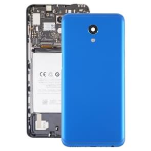 Batterij achtercover met camera lens voor Meizu M6s M712H M712Q (blauw)