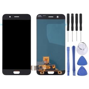 LCD Screen and Digitizer Full Assembly for OPPO R11(Black)