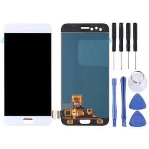LCD Screen and Digitizer Full Assembly for OPPO R11(White)