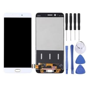 LCD Screen and Digitizer Full Assembly for OPPO R9s Plus(White)