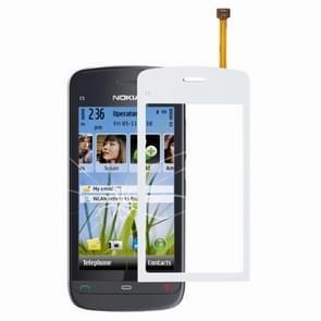 Aanraakpaneel voor Nokia C5 (wit)