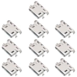 10 PCS Charging Port Connector for Motorola Moto E3 / Moto G5 / Moto G4 Play
