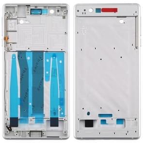 Front Behuizing LCD Frame Bezel Plaat voor Nokia 3 / TA-1020 TA-1028 TA-1032 TA-1038 (Wit)