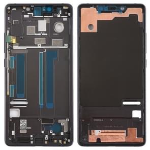 Middelste frame bezel met Zijkleutels voor Xiaomi Mi 8 SE (zwart)