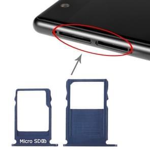 SIM-kaartlade + Micro SD-kaartlade voor Nokia 3 TA-1020 TA-1028 TA-1032 TA-1038(Blauw)