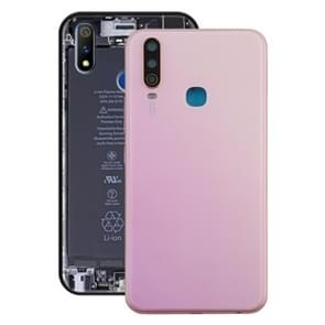 Battery Back Cover with Camera Lens for Vivo Y3(Pink)