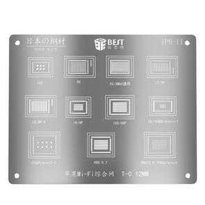 BESTE BST-iPh-11 Wifi Reballing Stencils Template Voor iPhone