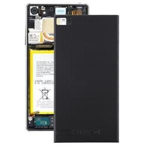 Achtercover voor BlackBerry Z3 (zwart)