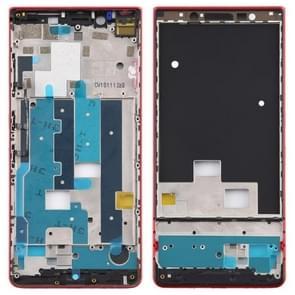 Middelste frame bezelplaat met zijtoetsen voor BlackBerry KEY2 LE / KEY2 Lite(Rood)