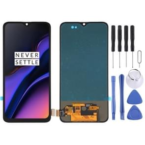 TFT Material LCD Screen and Digitizer Full Assembly for OnePlus 6T A6010 A6013 (Black)
