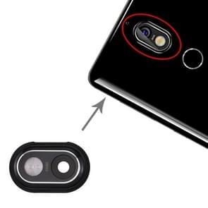 Camera lens cover voor Nokia 7 (zwart)