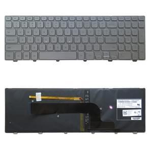 Amerikaanse versie toetsenbord met Toetsenbordverlichting voor DELL Inspiron 15 7000-serie 7537 P36F