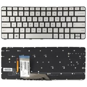 US Version Keyboard with Keyboard Backlight for HP Spectre X360 13T-4000 13-4000 4103DX (Silver)