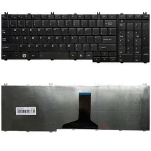 US versie toetsenbord voor Toshiba Satellite L670 L670D L675 L675D C660 C660D C655 L655 L655D C650 C650D L650 C670 L750 L750D