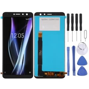 LCD Screen and Digitizer Full Assembly for BQ BQ-5700L Space X(Black)