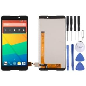 LCD Screen and Digitizer Full Assembly for BQ BQ-5707 Next(Black)