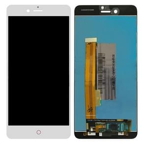 ZTE Nubia Z11 miniS / NX549J LCD-scherm en Digitizer full Assembly(White)