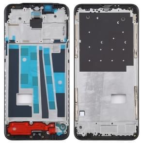 Front Housing LCD Frame Bezel Plate for OPPO A9 (Black)