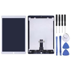 LCD-scherm en digitizer volledige assemblage voor iPad Pro 12 9 inch A1670 A1671 (2017)(Wit)