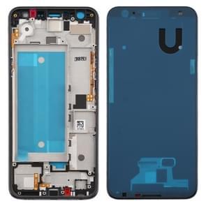 Front behuizing LCD Frame Bezel Plate voor LG K40 / K12+ K12 Plus / X4 2019 X420EM X420BMW X420EMW X420HM X420 X420N(Double SIM Versie) (Zwart)