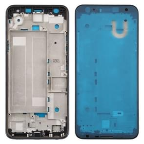 Front Housing LCD Frame Bezel Plate voor LG K40 / K12+ K12 Plus / X4 2019 X420EM X420BMW X420EMW X420HM X420 X420N(Double SIM Version) (Blauw)