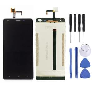 LCD Screen and Digitizer Full Assembly for Oukitel K6000 Pro (Black)