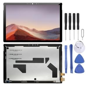 LCD-scherm en digitizer volledige assemblage voor Microsoft surface Pro 7 1866(Zwart)
