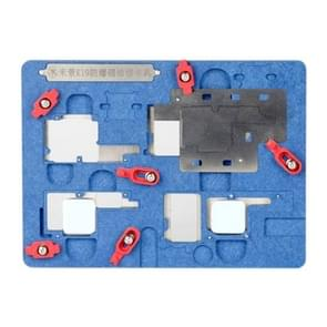Mijing K19 Motherboard Fixture Tool Explosion-proof Cooling Tin Platform for iPhone X