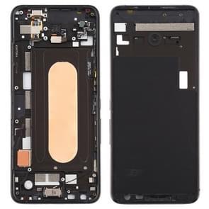Middenframe bezelplaat met zijtoetsen voor Asus ROG Phone II ZS660KL (Zwart)