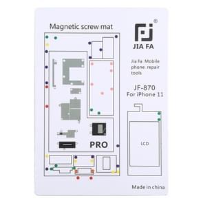 JIAFA JF-870 Magnetic Pad Schroefbord voor iPhone 11 Pro