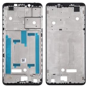 Middenframebezelplaat voor Nokia 3.1 Plus TA-1118 TA-1104 TA-1125 TA-1117 TA-1113 TA-1115 (Zwart)